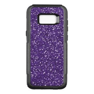 Purple Glam And Glitter OtterBox Commuter Samsung Galaxy S8+ Case