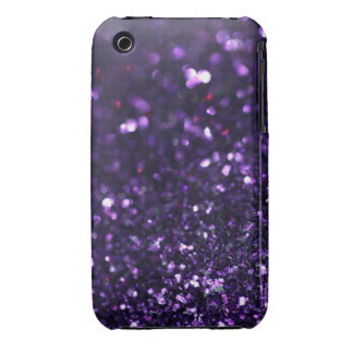 Purple Glimmer iPhone 3 Covers