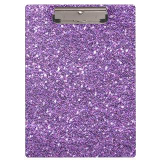 Purple glitter Clipboard