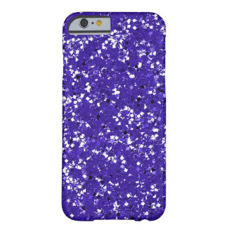 Purple Glitter Customized It Youself Barely There iPhone 6 Case