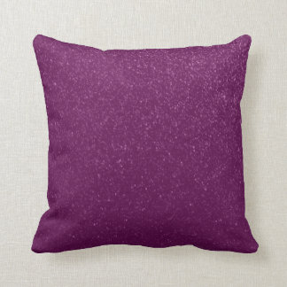 Purple Glitter Look Sparkles | Girly Sparkly Throw Pillow