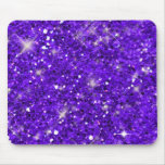 Purple Glitter Pattern Mousepad