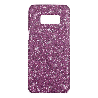Purple Glitter Printed Case-Mate Samsung Galaxy S8 Case