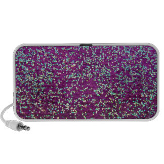 Purple Glitter Travelling Speaker