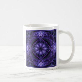Purple Globe Basic White Mug