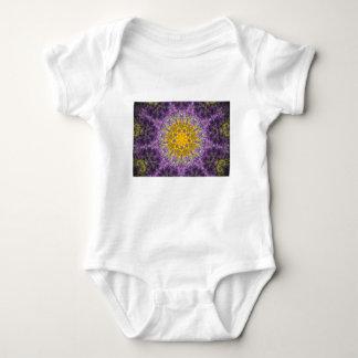 Purple glow baby bodysuit