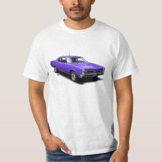 Purple Goat Vintage Classic Muscle Car T-Shirt