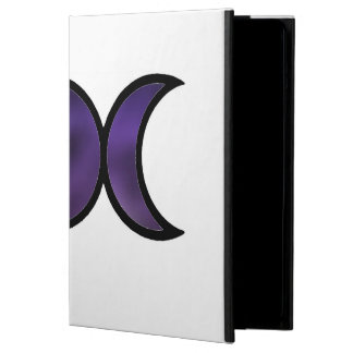 Purple Goddess iPad Air Case with No Kickstand