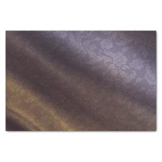 Purple & Gold Floral 10lb Tissue Paper