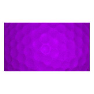 Purple Golf Ball Business Card Template