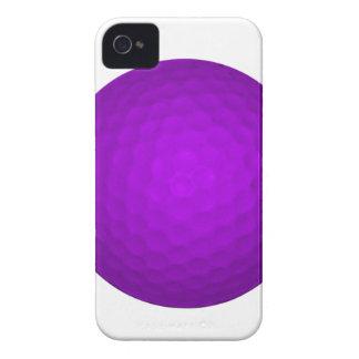 Purple Golf Ball iPhone 4 Case-Mate Cases