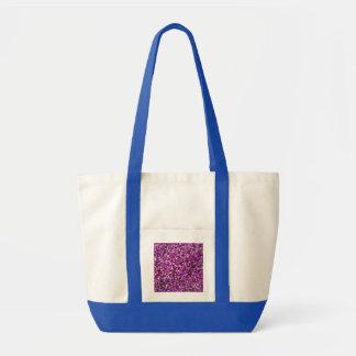 Purple Gomphrena Canvas Bag