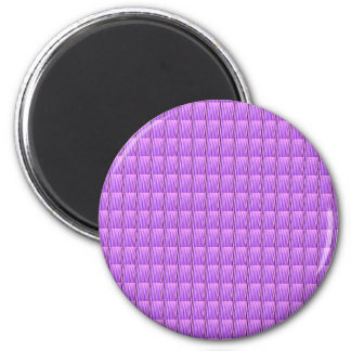 Purple Goodluck Crystal Tiles DIY add TEXT IMAGE 6 Cm Round Magnet