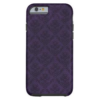 Purple Goth Victorian Custom Vintage Wallpaper Tough iPhone 6 Case