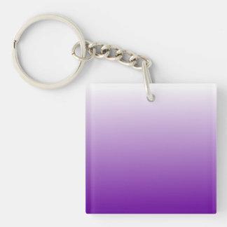 Purple Gradient Key Ring