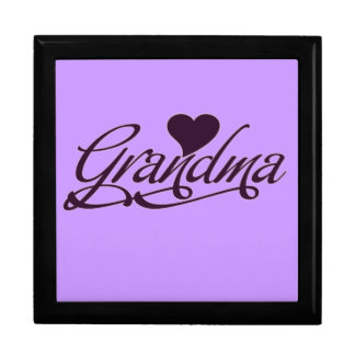 Purple Grandma Gift Box