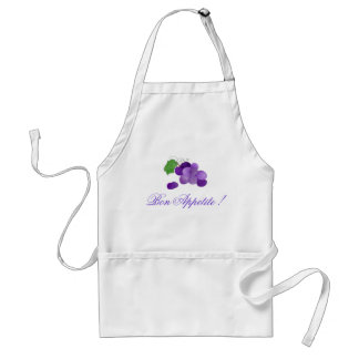 Purple Grapes Bon Appetite Apron