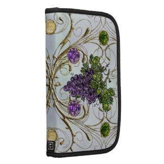 Purple Grapes Folio Planner