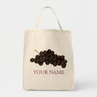 Purple Grapes Reusable Shopping Bag