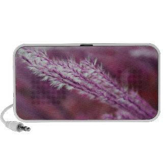 Purple Grass Speaker System