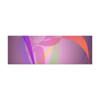 Purple Gray Gentle Abstract Design Stretched Canvas Prints