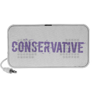 Purple Grunge Conservative Travel Speakers