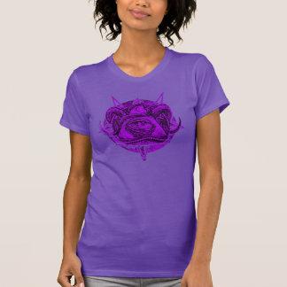 Purple Grunge Mystic Oblivion Pyramid Symbol Tees