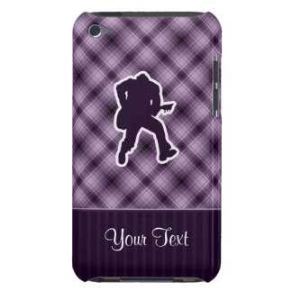 Purple Guitarist Barely There iPod Cover