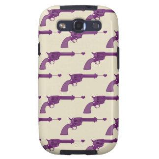 Purple Guns Galaxy S3 Case