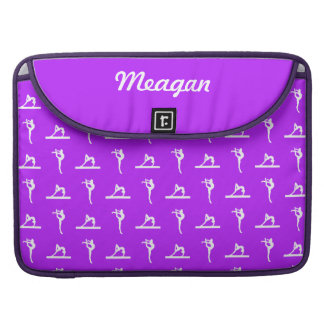 Purple Gymnastics MacBook Pro Sleeve