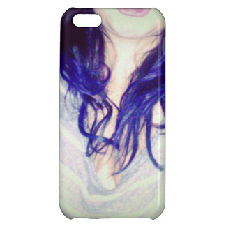 Purple Hair iPhone Case Case For iPhone 5C