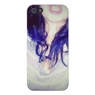 Purple Hair iPhone Case! iPhone 5/5S Case