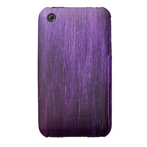 Purple Hair Texture iPhone 3 Case-Mate Cases