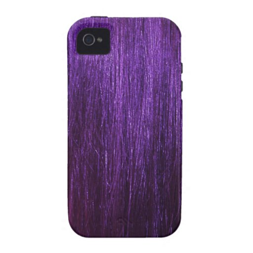 Purple Hair Texture iPhone 4/4S Case