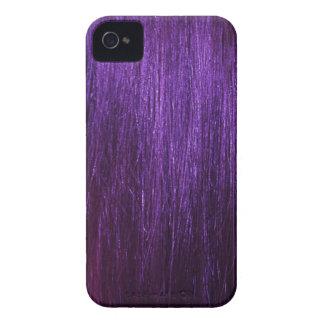 Purple Hair Texture Case-Mate iPhone 4 Case