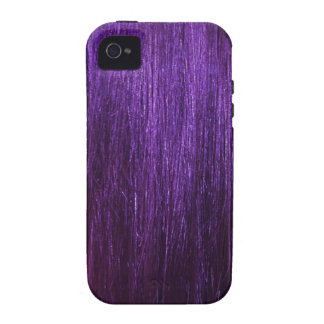 Purple Hair Texture iPhone 4/4S Cases