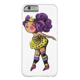 Purple Haired Tutu Girl Iphone case