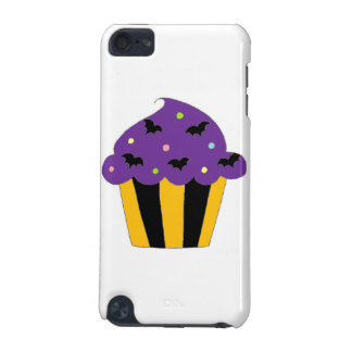 Purple Halloween Bats Cupcake iPod Touch (5th Generation) Cover