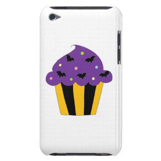 Purple Halloween Bats Cupcake iPod Touch Case