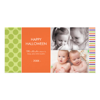 PURPLE  HALLOWEEN | HALLOWEEN PHOTO CARDS