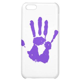 Purple Hand iPhone 5C Case