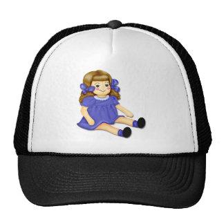 Purple Mesh Hats