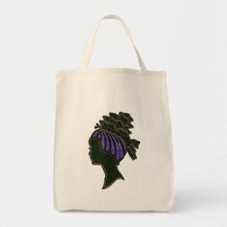 Purple Hat Organic Grocery Bag
