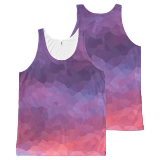 Purple Haze All-Over Print Tank Top