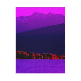 Purple Haze Gallery Wrap Canvas