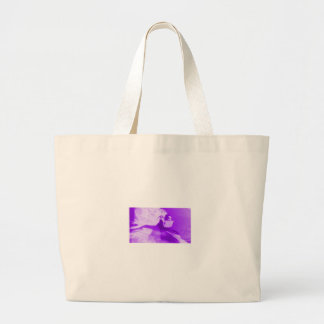 Purple Haze Girl Canvas Bag