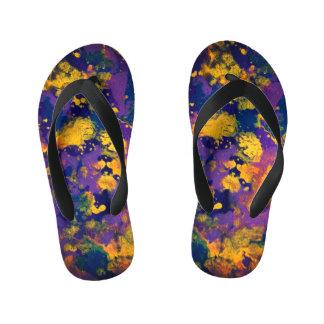 Purple Haze Kid's Flip Flops