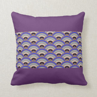 Purple Haze Trippy Throw Pillow Home Decor Trendy