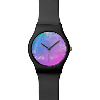 Purple Haze White Opal Dial Watch