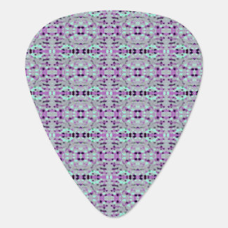Purple Hazy Design - Tribal Pattern Guitar Pick